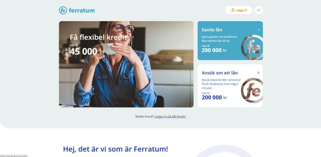 Ferratum skärmdump