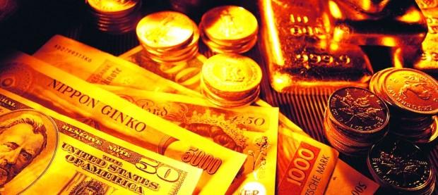 pengar och guld
