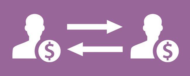 p2p lån symboler