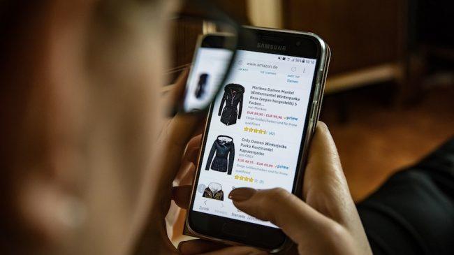 Shopping i mobilen